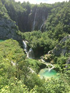 Pritvice Unesco World  heritage national park Croatia waterfalls nature beauty