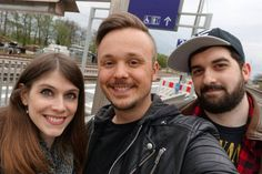 Yes it happened! :D  I was allowed to work with these two lovely pals today! And what can I say? It was awesome!  Me & @meisterlehnsherr met up with @donttrusttherabbit for the first time and we filmed some cool videos!  You'll find them on our 3 YouTube channels 'DontTrustTheRabbit' 'Get Germanized' and 'VlogDave' soon! :) Looking forward to hanging out with you again soon!  #vlogdave #youtuber #youtube #youtubers #germans #germanyoutuber #germanyoutubers #donttrusttherabbit #getgermanized…