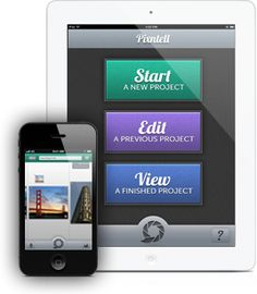 Pixntell | Create Beautiful Slideshows on Your iPhone or iPad - great for digital storytelling