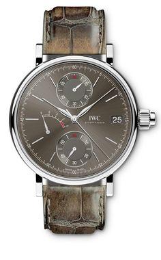 TimeZone : Industry News » N E W M o d e l - IWC Portofino Monopusher Chronograph