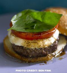 Bobby Flay's Trattoria Burger Recipe
