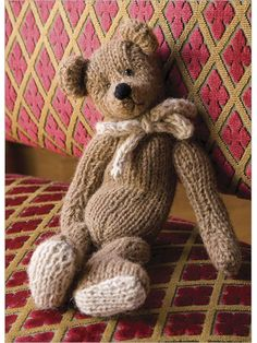 Classic Teddy Bear - Interweave