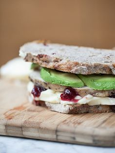 Turkey Cranberry and Grilled Brie Cheese Sandwich plus 10 more recipe links to use cranberries