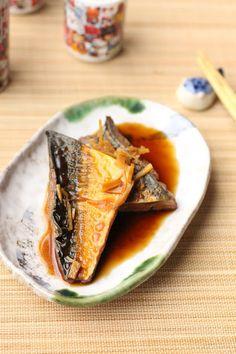 Maquereau au saké (Japon) Saba nitsuke