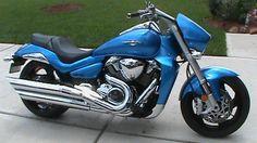 2012 Suzuki BOULEVARD M109R Cruiser , Blue, 1,700 miles for sale in Crosby, TX