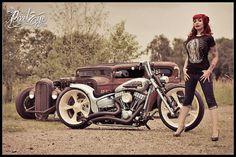 rat rods and bikes