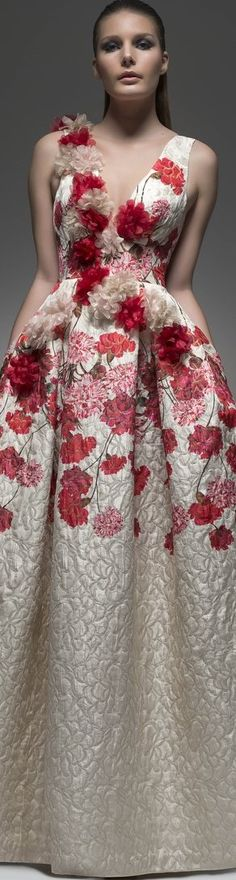 Isabel Sanchis. Floral maxi dress. women fashion outfit clothing style apparel @roressclothes closet ideas