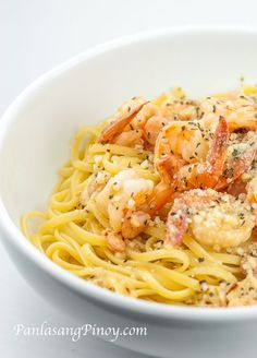 Garlic Shrimp Pasta is the pasta dish of my choice when I want to have a quick spaghetti meal before I hit the gym or go out for a late afternoon stroll on my bicycle. I like to have garlic shrimp pasta because it is very tasty and quick to prepare.