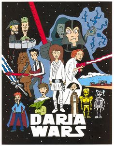 Daria Wars #starwars