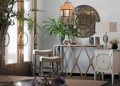I love the detail of this Gabby Furniture Alexander Wall Table Grayce :) Gabby Furniture, Wall Table, Decor, Eclectic Furniture, Furniture, Furnishings, Home Furniture, Transitional Furniture, Home Decor