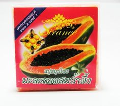Herbal Spa Papaya with Honey Facial and Body Bar Soap 50g Set of 2 by Desire Variety Shop. $12.00. Thai Spa papaya with honey Facial and Body Bar Soap 50g set of 2. Fine and creamy herbal bar soap that thoroughly cleanses your body. Help getting rid of black spot and brighten your face, THAI OTOP with local intelligence. Enriched with protein and minerals that relief skin dryness and leaves skin feeling soft and smooth. Natural scent soap leaves skin feeling fre...