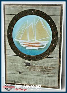 Card by Sari featuring True North