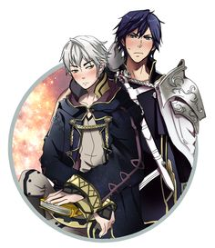 Ehehehe I kind of ship M : MU and Chrom....