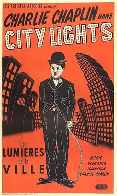 City Lights (1931) Directed by Charlie Chaplin.