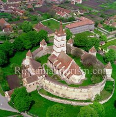 Harman Fortified Church Image - Transylvania, Romania