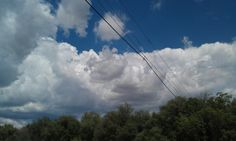 Love big billowy clouds.   Especially in Southern Arizona because they don't happen very often.