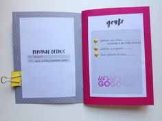 martu alterada: Habit November / a mini book made out of my habit planner ♥