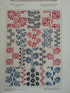 FolkCostume&Embroidery: May 2016 – knitting charts Cross Stitch Borders, Cross Stitch Samplers, Cross Stitching, Cross Stitch Patterns, Folk Embroidery, Cross Stitch Embroidery, Embroidery Patterns, Machine Embroidery, Stitch Crochet
