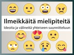 Ideoita ja välineitä mielipiteen ilmaisemiseen ryhmässä, kuten erilaisia tulostettavia ilmeitä ja lausahduksia #emoji #mielipide #suunnittelu #hymiö #tulostettava #tunnetaidot #ryhmätoiminta Occupational Therapy, Speech Therapy, My Future Job, Emotional Intelligence, Childhood Education, Social Skills, Classroom Management, Elementary Schools, Preschool