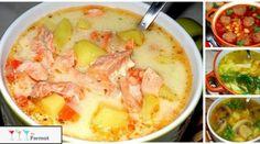 1. Ароматный супчик с копчёной курицей и плавленным сырком копчёный окорочок — 300 гр плавленный сыр — 3 стол ложи (у меня виола ) картошка — 3 шт морковь — 1 шт репчатый лук — 1 шт зелень укропа —…