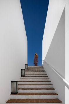 ecork hotel - évora - josé carlos cruz - 2008-13 - ext stair - photo fernando guerra