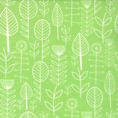 Summersville Spring - Bloomsbury in Lime Juice Map Wallpaper, Trendy Wallpaper, Pattern Wallpaper, Textures Patterns, Fabric Patterns, Print Patterns, Flower Patterns, Sewing Patterns, Fabric Design