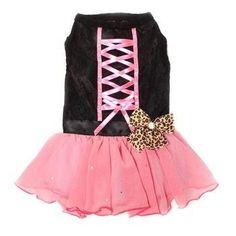 Tutu-Riffic Dog Dress - Hot Pink