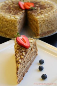 Walnut Cake, Banana Bread, Cooking Recipes, Eat, Desserts, Food, Tailgate Desserts, Deserts, Chef Recipes