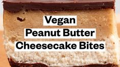 Vegan Peanut Butter Cheesecake Bites - YouTube Peanut Butter Cheesecake, Vegan Peanut Butter, Vegan Cheesecake, Cheesecake Bites, Protein Bars, Vegan Gluten Free, Treats, Snacks, Youtube