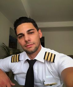 A beautiful Sunday for a 2 sector! Few more days of flying then off for the last vacation of this summer. Looking forward to it! Any plans… African Shirts For Men, Hot Cops, Beautiful Men Faces, Boy Photography Poses, Guys And Dolls, Attractive Guys, Men In Uniform, Raining Men, Male Face