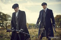 Peaky Blinders - Publicity still of Paul Anderson & Finn Cole