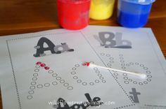 Letter Recognition & Other letter work