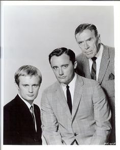 Man From UNCLE promo  Illya Kuryakin, Napoleon Solo, Alexander Waverly