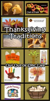 A plethora of Thanksgiving Ideas that go beyond the norm to help you leave a legacy.