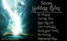 7 Goddess Rules