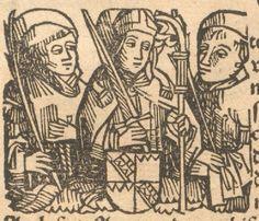 Schedel, Hartmann: Das buch Der Croniken unnd geschichten Augsburg, 1500 GW M40782  Folio 182