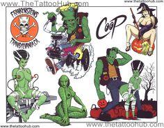 Co-op Tattoo Art   Coop Tattoo Flash