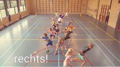 Je gymles goed starten met dit leuke spel. Je kunt Engels, rekenen of taal toevoegen. Zo is iedereen in de gymles actief, leuk en leerzaam bezig.