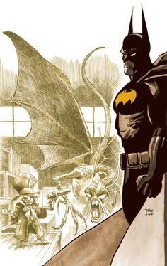 Batman covers by Tim Sale