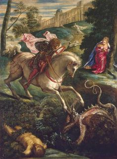 Tintoretto - St George