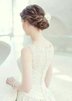 Hair style for #wedding