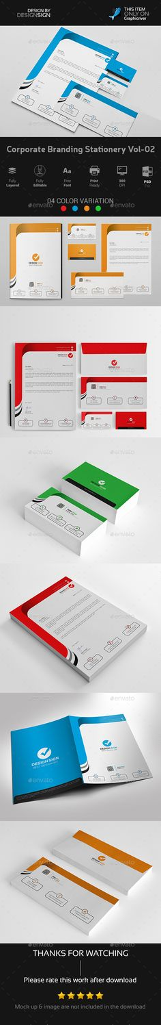Corporate Branding Stationery Vol-02