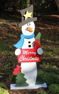 #Snowman #Christmas Greeter