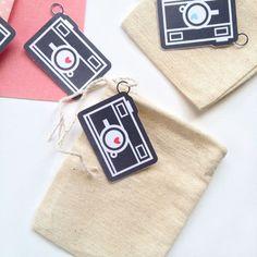 Silhouette Free Shape of the Week: Mini Chalkboard Camera Tags