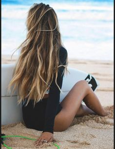 Cheveux longs été