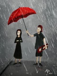 I'll Be Your Umbrella Man, Shower You With All My Love...