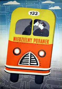 poster for a short documentary by Eryk Lipinski (1955)
