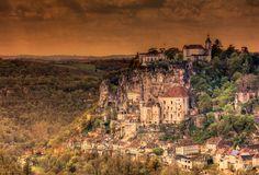 Rocamadour - Lot - France Rocamadour France, Grand Canyon, Photos, Nature, Travel, Bridge Pattern, History, Tourism, Photography