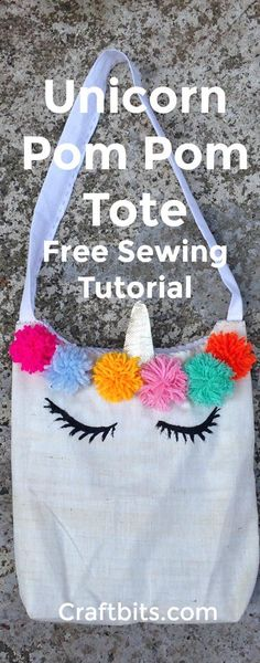 Create Adorable Unicorn Tote Bag — craftbits.com