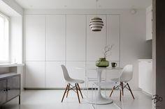 miniasunto Kitchen Interior, Eames, Kitchen Dining, Chair, Furniture, Home Decor, Interiors, Decoration, Tips